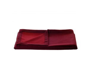 Doubleface cashmere lambswool blanket - RED