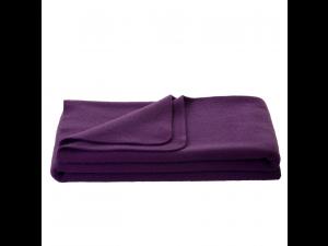 Chlidren's sheep wool blanket, Velour - LILA