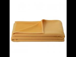 BIO Doubleface chlidren's sheep wool blanket - YELLOW / LIGHT YELLOW