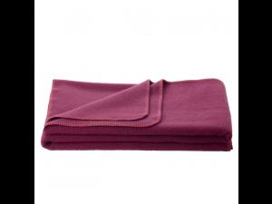 Chlidren's sheep wool blanket, Velour - PURPLE