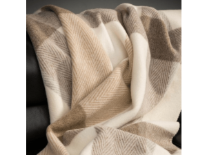 Sheep wool blanket