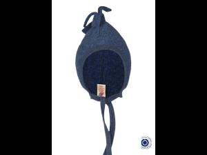 BIO Merino Fleece Children`s Caps, BLUE - 74/80 to 86/92