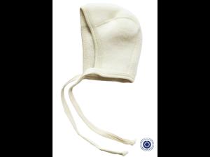 BIO Merino Fleece Children`s Caps, NATURAL - 50/56 to 62/68