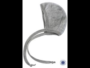 BIO Merino Fleece Children`s Caps, GREY - 50/56 to 62/68