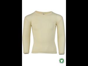 BIO Merino-Silk Shirt, Long Sleeves, NATURAL -  size 92 to 176