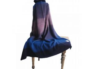 Children´s Wool blanket, Velur - RED