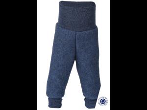 BIO Merino Fleece Children`s Pants, BLUE - 50/56 to 86/92