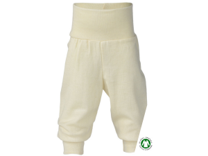 BIO Merino-Silk Baby Pants,  NATURAL - size 50/56 to 86/92