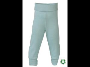 BIO Merino-Silk Baby Pants, PASTEL TURQUOISE - size 50/56 to 86/92