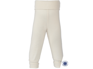 BIO Cotton Baby Pants, NATURAL - size 50/56 to 86/92