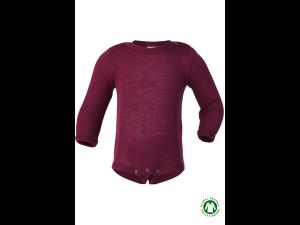BIO Merino-Silk Body Long sleeve, PURPLE - 50/56 to 110/116