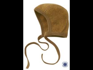 BIO Merino Fleece Children`s Caps, YELLOW - 50/56 to 62/68