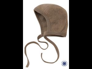 BIO Merino Fleece Children`s Caps, WALNUSS BROWN - 50/56 to 62/68