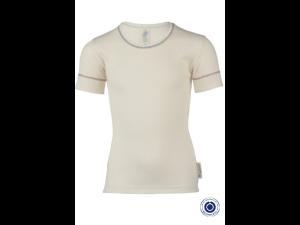 BIO Cotton Shirt, NATURAL - size 92 to 152