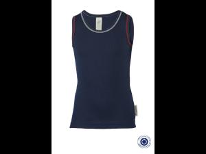 BIO Cotton Shirt, BLUE - size 92 to 152
