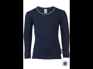 BIO Cotton Shirt, BLUE- size 92 to 152