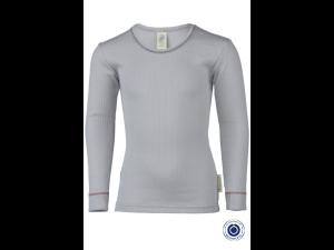 BIO Cotton Shirt, GRAY- size 92 to 152