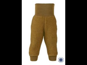 BIO Merino Fleece Children`s Pants, YELLOW - 50/56 to 86/92
