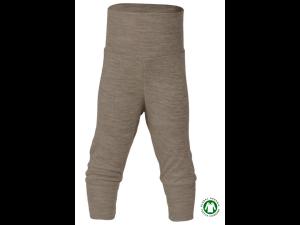 BIO Merino-Silk Baby Pants, BROWN - size 50/56 to 86/92