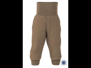 BIO Merino Fleece Children`s Pants, LIGHT BROWN, WALNUSS - 50/56 to 86/92