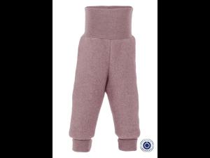 BIO Merino Fleece Children`s Pants, PINK - 50/56 to 86/92