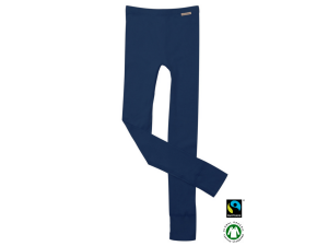 BIO Cotton children`s leggings, DRAK BLUE - 104 to 164