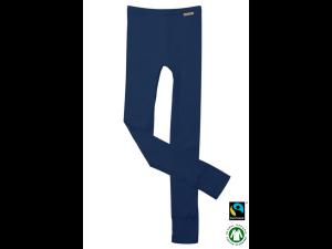BIO Cotton children`s leggings, DRAK BLUE - 104 to 164