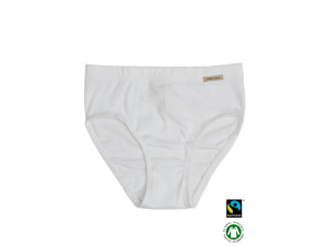 BIO Cotton girls panties, WHITE- 104 to 164