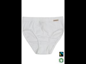 BIO Cotton girls panties, WHITE- 104 to 164