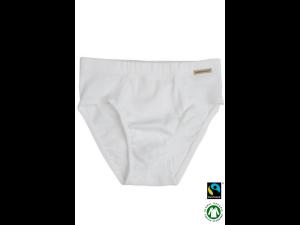 BIO Cotton boys' underpants, WHITE - 104 to 164