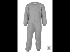 BIO Merino Fleece Children`s Overall, GREY -  size 50/56 to 86/92