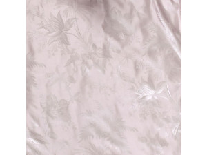 PARADISE ROSA Silk Flat sheet - Lighter Jacquard silk