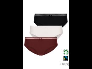 ECO Cotton Women's jazz panties /simplepack - 3 Pair