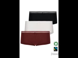 ECO Cotton Women's boxer panties /simplepack - 3 Pair