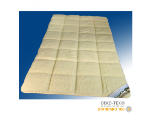 Mattress pad, merino wool