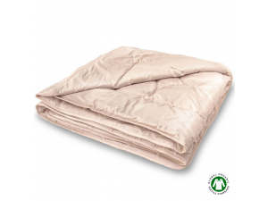 DISCOUNT / Quilted Duvet, baby camel wool filling / 140 x 200 cm