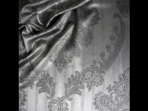 ROYAL Silk Flat sheet - Thicker Jacquard silk