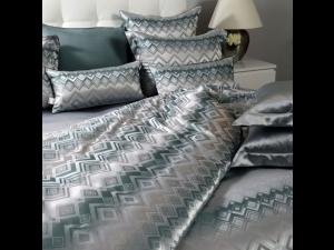 RUWEN Silk Flat sheet - Heavy Jacquard silk / 31 momme (mm)