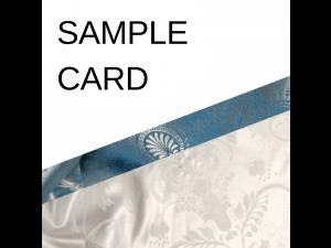 SAMPLE CARD - Silk bedding