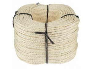 Sisal rope, Ø 6 mm