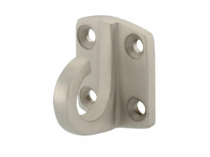 Wall Bracket with hook - MAT NICKEL