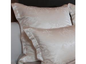 Silk Jacquard Fabric, thicker silk, NATURAL, width 280 cm