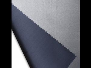 Silk satin fabric, thicker silk, PASTEL NAVY BLUE, width 280 cm