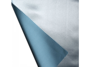 Silk satin fabric, thicker silk, PASTEL BLUE, width 280 cm