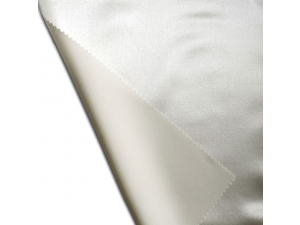 Silk satin fabric, thicker silk, NATURAL / 26 momme (mm)