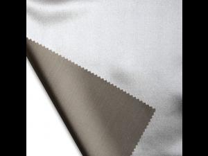 Silk satin fabric, thicker silk, PASTEL BROWN, width 280 cm