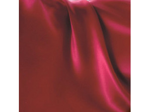 Silk flat sheet, Thinner silk - RUBIN RED / 22 momme (mm)