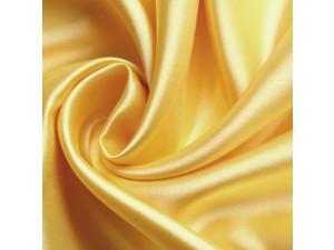 Silk satin fabric, Lighter silk, YELLOW, width 280 cm / 22 momme (mm)
