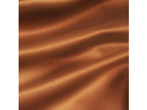 Silk satin fabric, Lighter silk, TERRACOTTA BROWN, width 280 cm / 22 momme (mm)