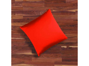 Silk fitted sheet, Lighter silk - CARMINE RED / 22 momme (mm)